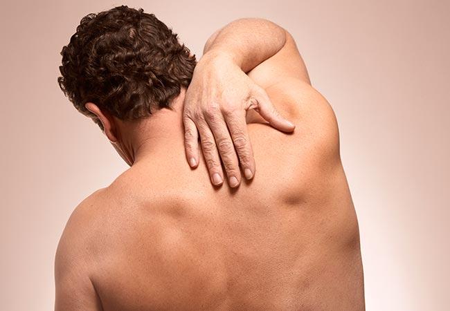 El riñón duele en la espalda
